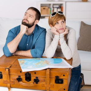 Couple thinking