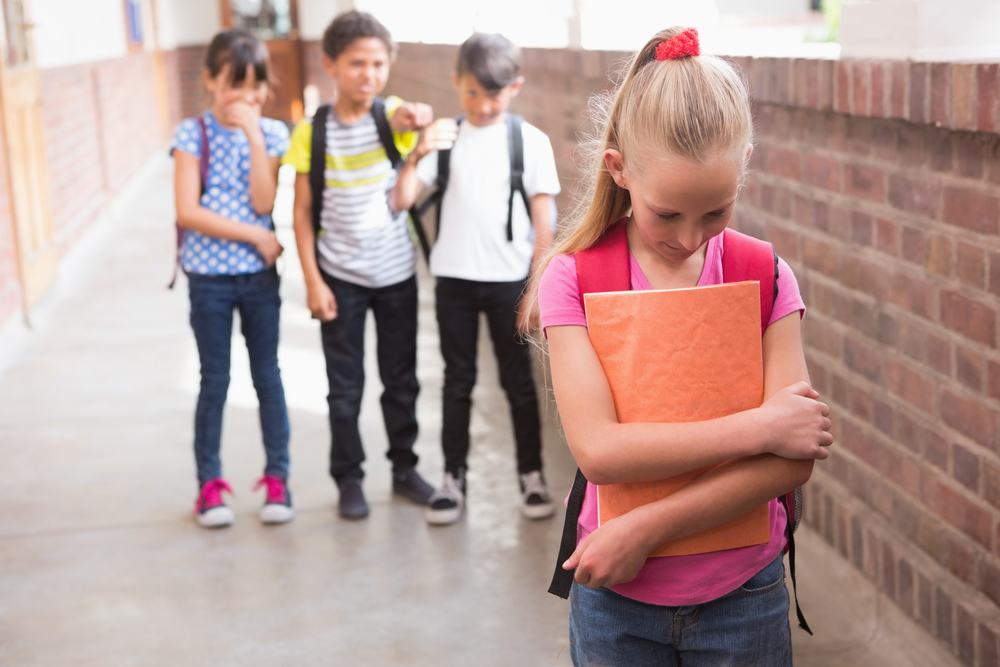bullying in the example of a young couple Stopping bullying requires that the adults in charge: stay aware, set a good example, intervene to stop unsafe or disrespectful behavior, and teach personal safety skills to the young people in their lives.